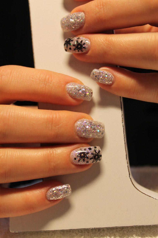 jul och nyårs naglar - Salong Be Lövely